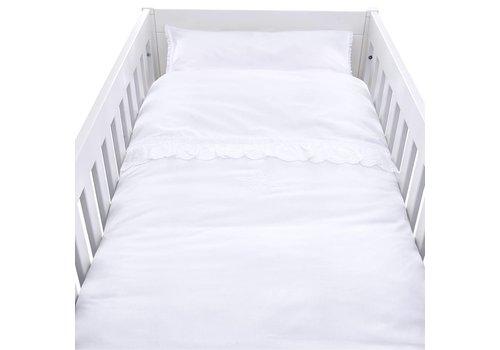 Theophile & Patachou Theophile & Patachou Duvet Cover Bed + Pillowcase Lace Volant Poeme