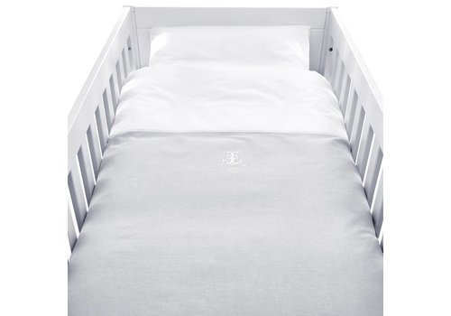 Theophile & Patachou Theophile & Patachou Duvet Cover Bed + Pillowcase Grey - White
