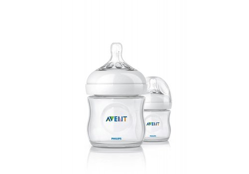 Avent Avent Natural Feeding Bottle 125 ml Duo