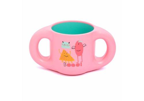 Suavinex Suavinex Drinking Cup Booo! Pink