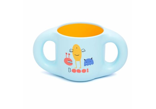 Suavinex Suavinex Drinking Cup Booo! Blue