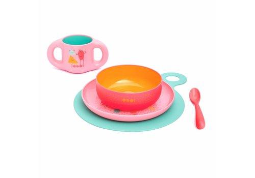 Suavinex Suavinex Dining Set Booo! Pink