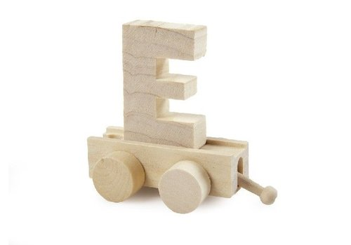 Bartok Bartok Train Letter E Natural