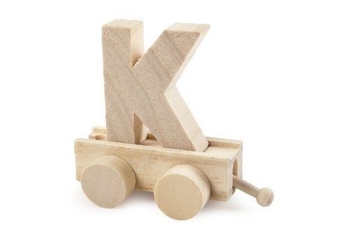 Bartok Bartok Train Letter K Natural