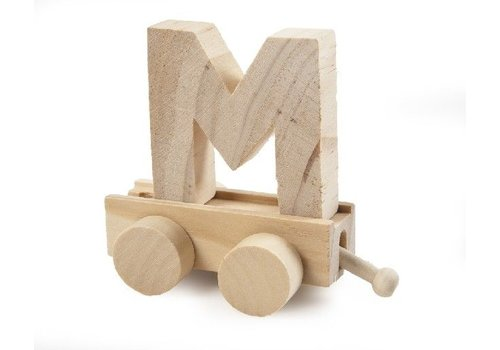 Bartok Bartok Train Letter M Natural