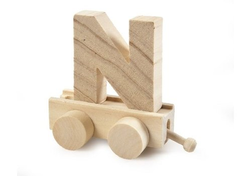 Bartok Bartok Train Letter N Natural