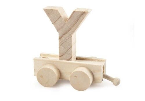 Bartok Bartok Train Letter Y Natural