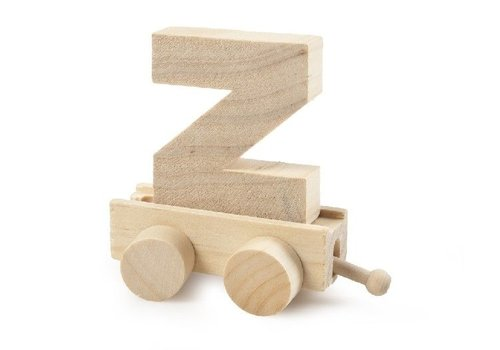 Bartok Bartok Train Letter Z Natural