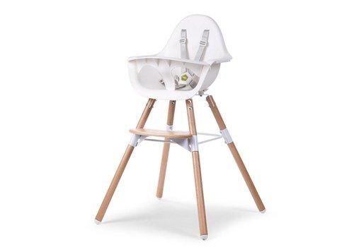 Childhome Childhome Evolu Chair 2 In 1 + Bumper Natural- White