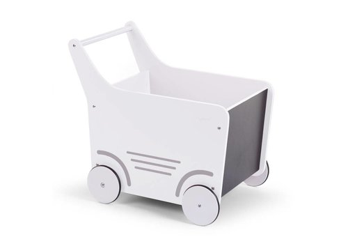 Childhome Childhome Wooden Stroller White
