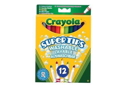 Crayola Crayola Viltstiften Met Superpunt 12 Stuks