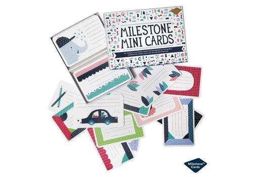 Dwell Studio Dwell Studio Milestone Mini Cards Nederlands