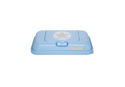 Funkybox Funkybox Baby Wipes Box Go Light Blue Star