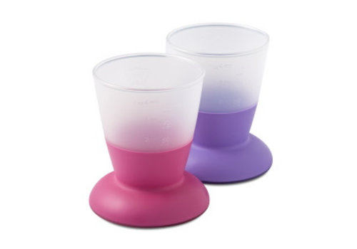 BabyBjörn Babybjorn Drink Cup Duo Pink - Lila