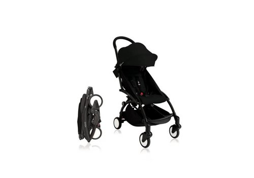 Babyzen Babyzen Yoyo Kinderwagen + Frame Zwart