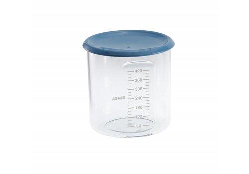 BEABA Beaba Bewaarpotjes Maxi Portie 420 ml Blue