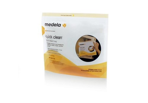 Medela Medela Sterilization Bags Quick Microwave 5 Pieces