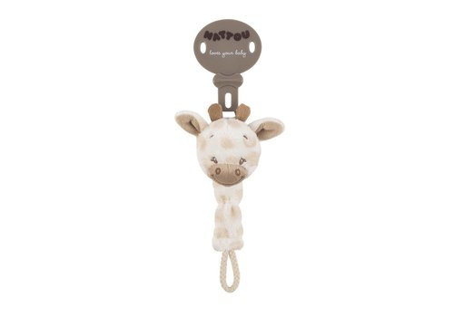 Nattou Nattou Soother Clip Charlotte The Giraffe