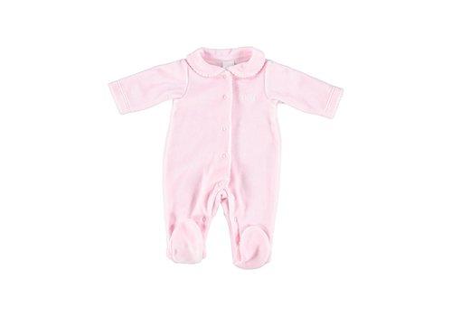 Laranjinha Laranjinha Pyjamas With Feet Pink