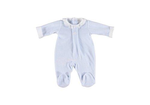 Laranjinha Laranjinha Pyjamas Collar Lace Blue