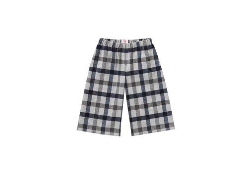 Il Gufo Il Gufo Pants Checkered Grey
