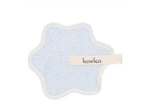 Koeka Koeka Pacifier Cloth Rome Light Blue