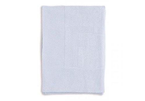 My First Collection First Deken Gebreid Cotton Ciel