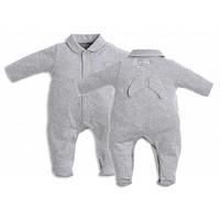 First Pyjamas Grey With Angel Wings