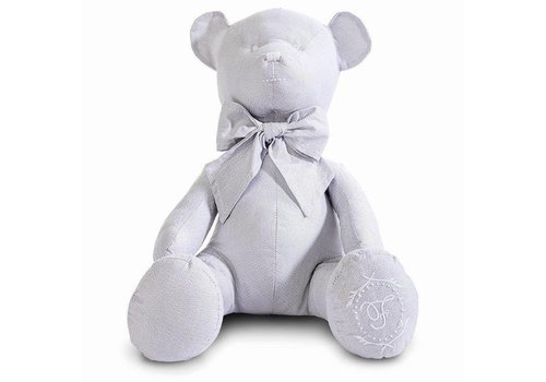 My First Collection First Teddybeer Lola 40 cm Lichtgrijs