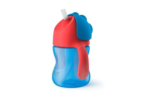 Avent Avent Drink Cup With Straw Boy 200ml Blue