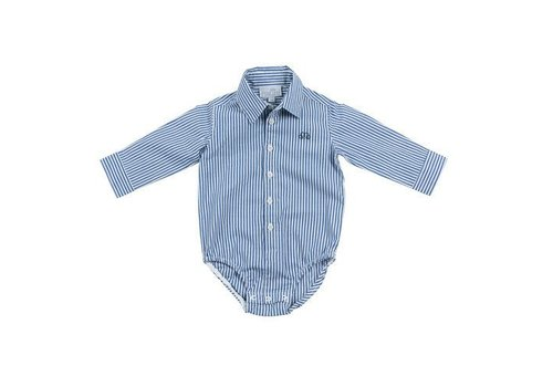 Natini Natini Body Shirt Pierrot Stripes Dark Blue
