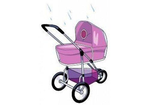 Babsana Babsana Regenhoes Voor Kinderwagen