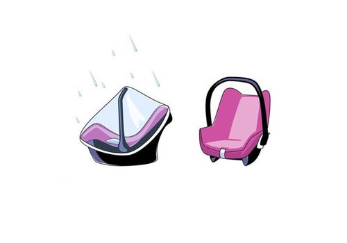 Babsana Babsana Rain Cover For Car Seat 0+