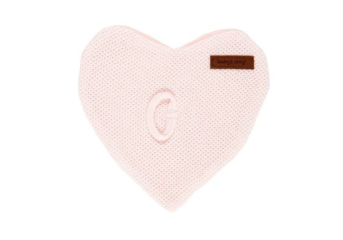 Baby's Only Baby's Only Pacifier Cloth Classic Pink