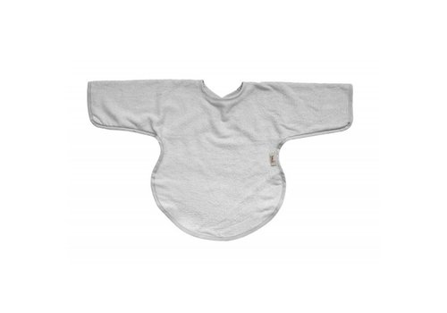 Timboo Timboo Bib With Sleeves Silver Gray
