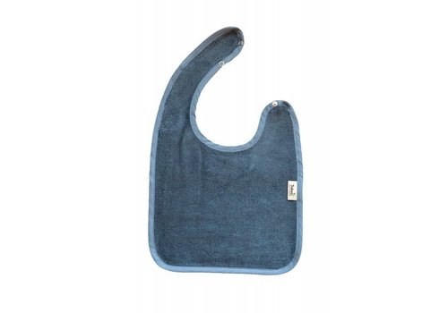 Timboo Timboo Bib Large 26 x 38 With Push Button Marin