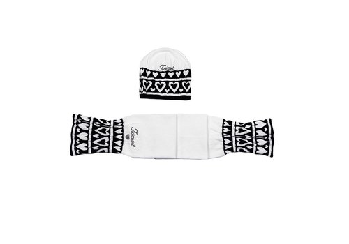 Twinset Twinset Hat + Scarf Off-white