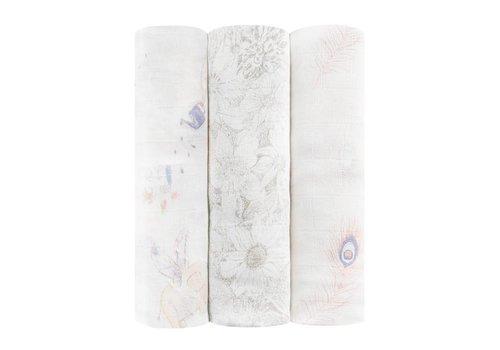 Aden & Anais Aden & Anais Tetradoeken Silky Soft Featherlight 3-Pack