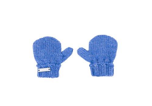 Il Trenino Il Trenino Gloves Melange Blue