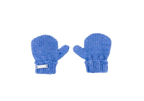 Il Trenino Il Trenino Handschoenen Melange Blauw