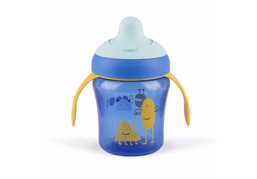 Suavinex Suavinex Anti-Leak Drinking Cup Booo! Blue