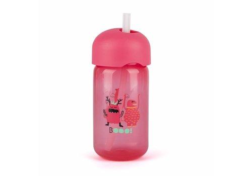 Suavinex Suavinex Booo! Drink Cup With Straw Pink