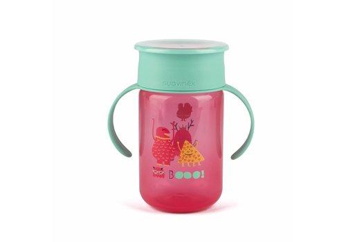 Suavinex Suavinex Booo! Drink Cup 360° Pink