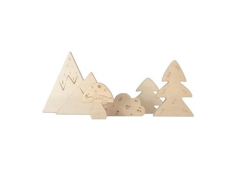 Loullou Loullou Wooden Forest