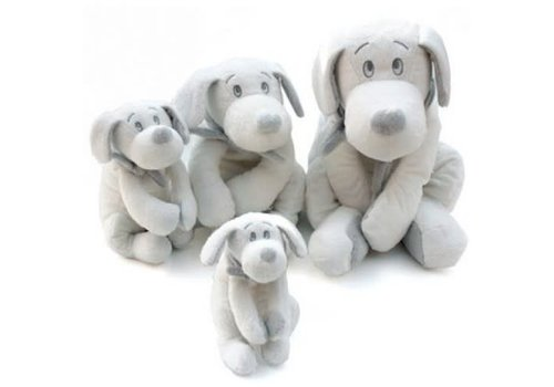 Dimpel Dimpel Cuddly Toy Fifi Dog 50 cm White