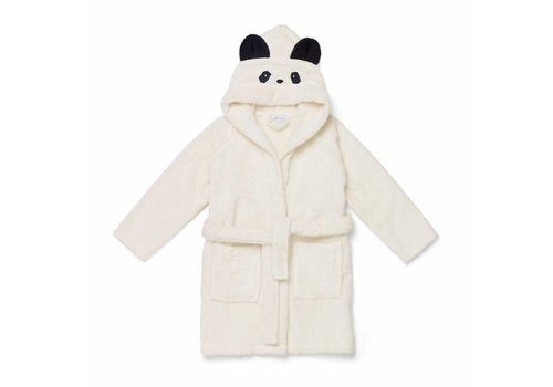 Liewood Liewood Bathrobe Panda Off-white