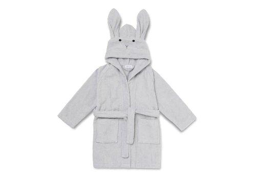 Liewood Liewood Bathrobe Rabbit Grey