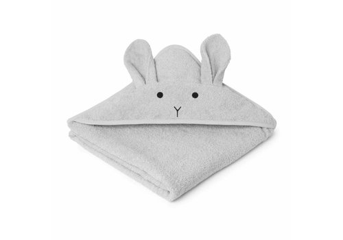 Liewood Liewood Hooded Towel Rabbit Dumbo Grey