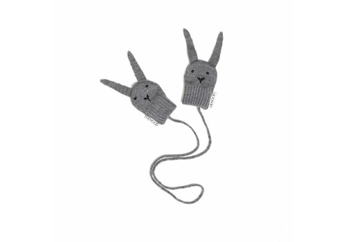 Liewood Liewood Mittens Rabbits Grey