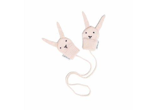 Liewood Liewood Mittens Rabbits Pink